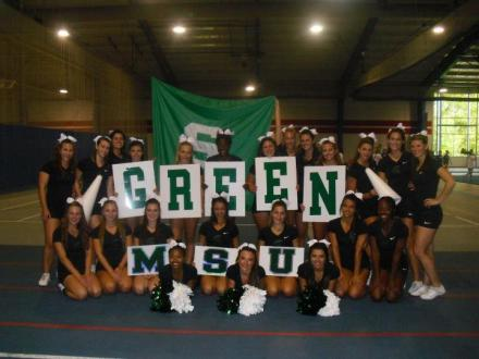 cheer camp green